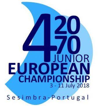 İ.Y.K 420 Sporcularımız Sesimbra/Portekiz'de düzenlenen 420&470 Junıor Avrupa Şampiyonası'na katılıyor