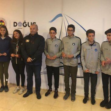 Fenerbahçe Doğuş Kupası'nı kazanan sporcularımız…