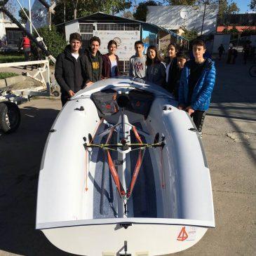 Kulübümüz Tekne Filosuna yeni bir 420 Teknesi Katıldı.