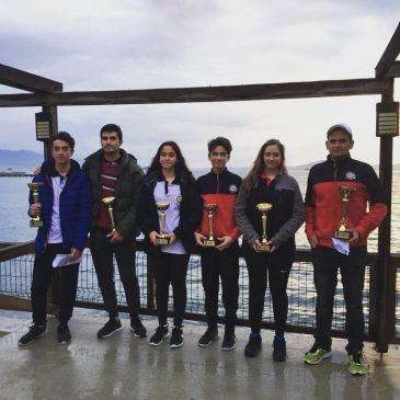 TYF Kış Kupası'nda Ödül alan sporcularımız