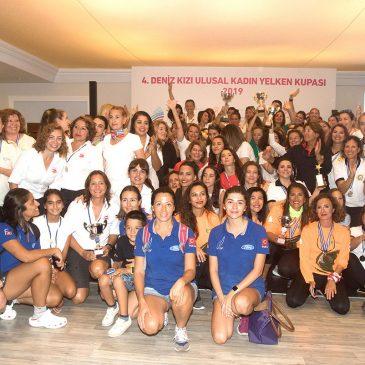 4. Deniz Kızı Ulusal Kadın Yelken Kupası'nın sahibi MSI Sailing Team AG Yelken Takımı oldu!
